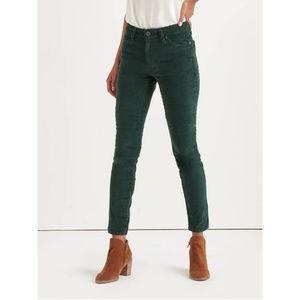 🍀NWT Lucky Brand Ava Skinny Corduroy Jeans